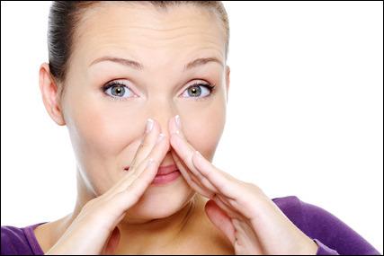 nemalonaus kvapo naikinimas